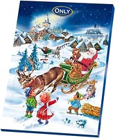 Фото Only шоколадный набор Календарь 75 г