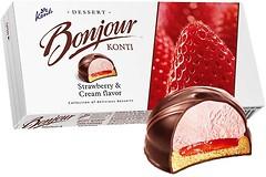 Фото Konti Bonjour вкус клубники со сливками 232 г