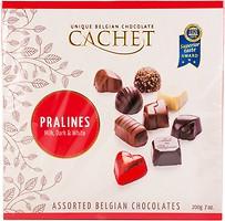 Фото Cachet Ассорти шоколадное 200 г