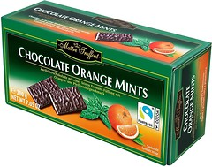 Фото Maitre Truffout Chocolate Orange Mints 200 г