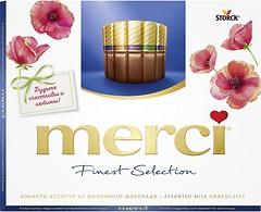 Фото Merci Finest Selection ассорти из молочного шоколада 250 г
