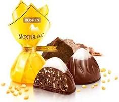 Фото Roshen Монблан с шоколадом и сезамом 1 кг