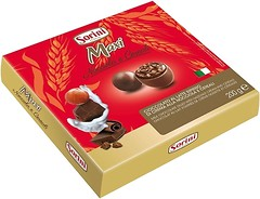 Фото Sorini Maxi Milk Chocolate Filled With Hazelnut Cream and Cereals 200 г