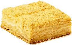 Фото ТМ Юрка Вербила торт Наполеон ванильный 500 г