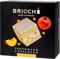 Фото Brioche торт Творожный с персиком 550 г