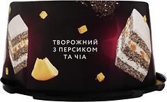 Фото Brioche торт Творожный с персиком и чиа 500 г