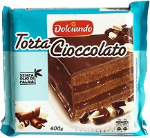 Фото Dolciando торт Шоколадный 400 г