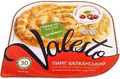 Фото Valesto пирог Балканский вишня с заварным кремом 550 г