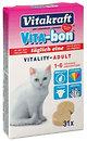 Фото Vitakraft Vita-Bon для кошек 1-6 лет 31 таблетка