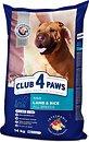 Фото Клуб 4 лапы Сухой корм Для взрослых собак всех пород с ягненком и рисом 14 кг