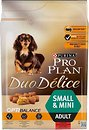 Фото Purina Pro Plan Small & Mini Adult Duo Delice 2.5 кг