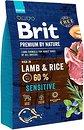 Фото Brit Premium Sensitive Lamb & Rice 3 кг
