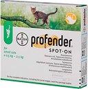 Фото Bayer Капли Profender Spot-On для котов 0.5-2.5 кг 1 шт.