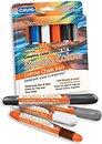 Фото Davis Мелок цветной Studio Color Creme Chalk Pens Essential Colors 6 шт. (SC.CCP-E)
