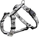 Фото Trixie Шлея Silver Reflect Harness XS-S 30-40 см / 15 мм black/silver/grey (12231)