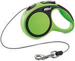 Фото Flexi Поводок-рулетка тросовая New Comfort XS 3 м / 8 кг green