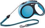 Фото Flexi Поводок-рулетка тросовая New Comfort M 8 м / 20 кг blue