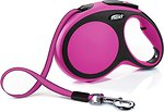 Фото Flexi Поводок-рулетка ленточная New Comfort L 8 м / 50 кг pink