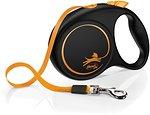 Фото Flexi Поводок-рулетка ленточная Limited Edition M 5 м / 25 кг orange