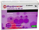Фото KRKA Таблетки Марфлоксин (Marfloksin) 80 мг, 12 шт