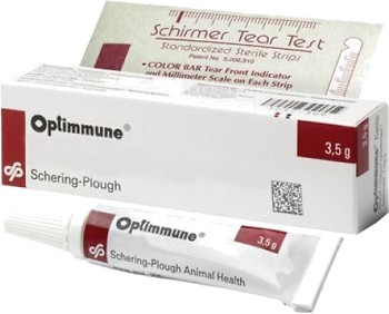 Фото Agrovet Animal Health Мазь Оптиммун (Optimum) 2 мг, 3.5 г