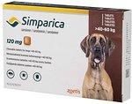 Фото Zoetis Таблетки Симпарика (Simparica) 120 мг, 40-60 кг 1 шт