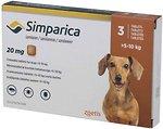Фото Zoetis Таблетки Симпарика (Simparica) 20 мг, 5-10 кг 1 шт