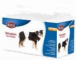Фото Trixie Пояс гигиенический Diapers for Male Dogs L-XL 60-80 см 12 шт. (23643)