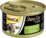 Фото GimCat ShinyCat Chicken & Papaya in Jelly 70 г (412948)