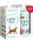 Фото Optimeal For Adult Cats Hairball Control Duck 2x650 г