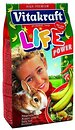 Фото Vitakraft Life Корм для кроликов с бананом 600 г (25119)
