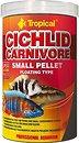 Фото Tropical Cichlid Carnivore Small Pellet 1 л, 360 г (60756)
