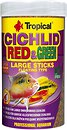 Фото Tropical Cichlid Red & Green Large Sticks 1 л, 300 г (63736)