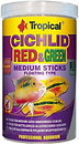 Фото Tropical Cichlid Red & Green Medium Sticks 1 л (63726)