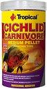 Фото Tropical Cichlid Carnivore Medium Pellet 1 л, 360 г (60766)